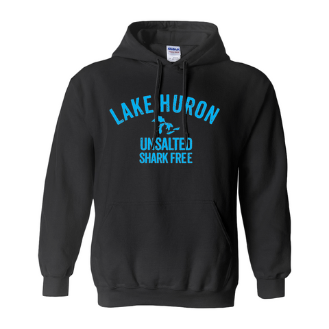 Lake Huron Unsalted Shark Free Hoodies (No-Zip/Pullover)