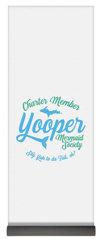 Charter Member Yooper Mermaid Society - Yoga Mat - Upper Peninsula Yoga Mat