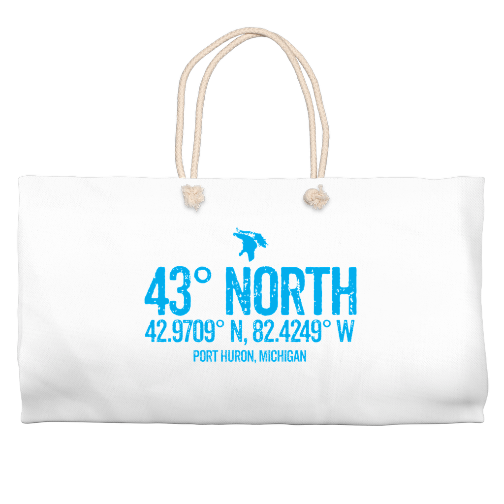 43 Degrees North Weekender Totes