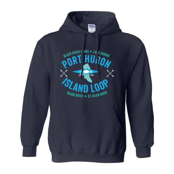 Port Huron Island Loop Hoodies (No-Zip/Pullover)