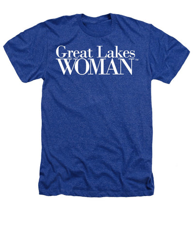 Great Lakes Woman White Logo - Heathers T-Shirt
