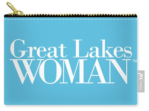 Great Lakes Woman White Logo - Carry-All Pouch