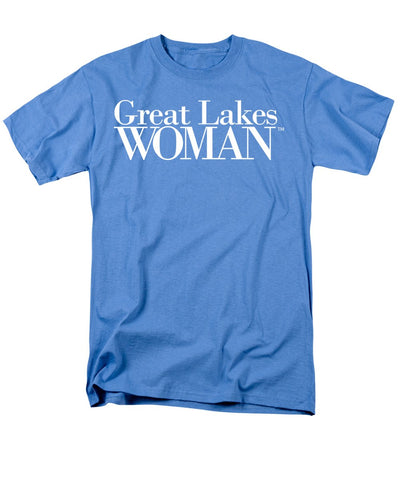 Great Lakes Woman White Logo - Men's T-Shirt  (Regular Fit)