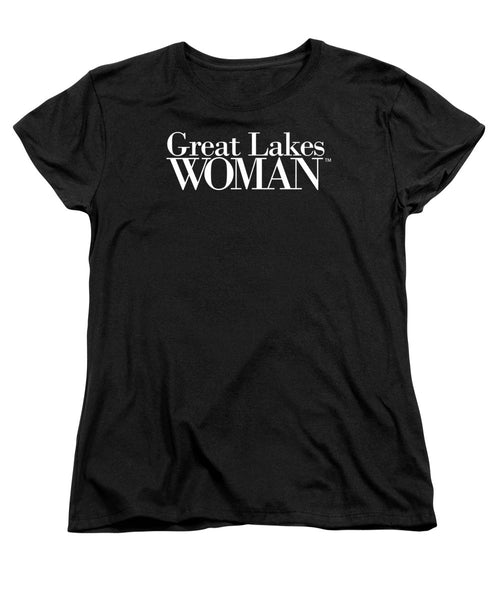 Great Lakes Woman White Logo - Women's T-Shirt (Standard Fit)
