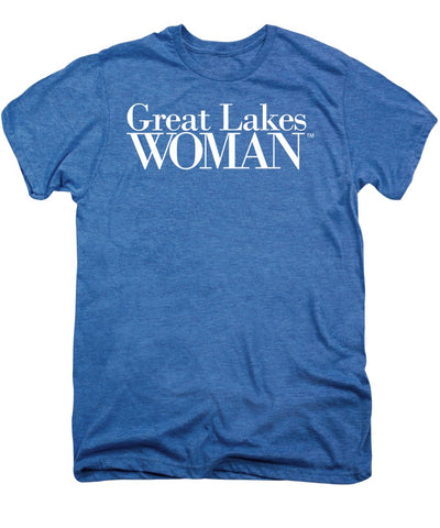 Great Lakes Woman White Logo - Men's Premium T-Shirt