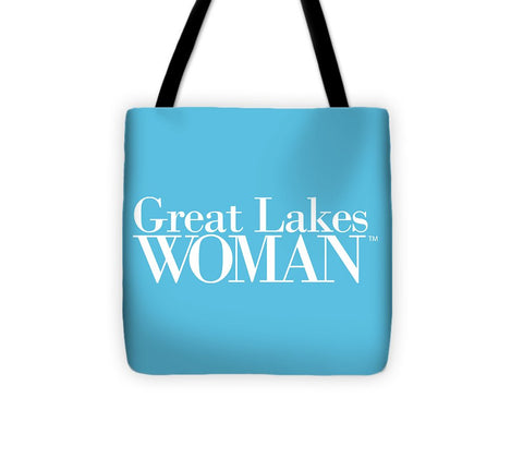 Great Lakes Woman White Logo - Tote Bag