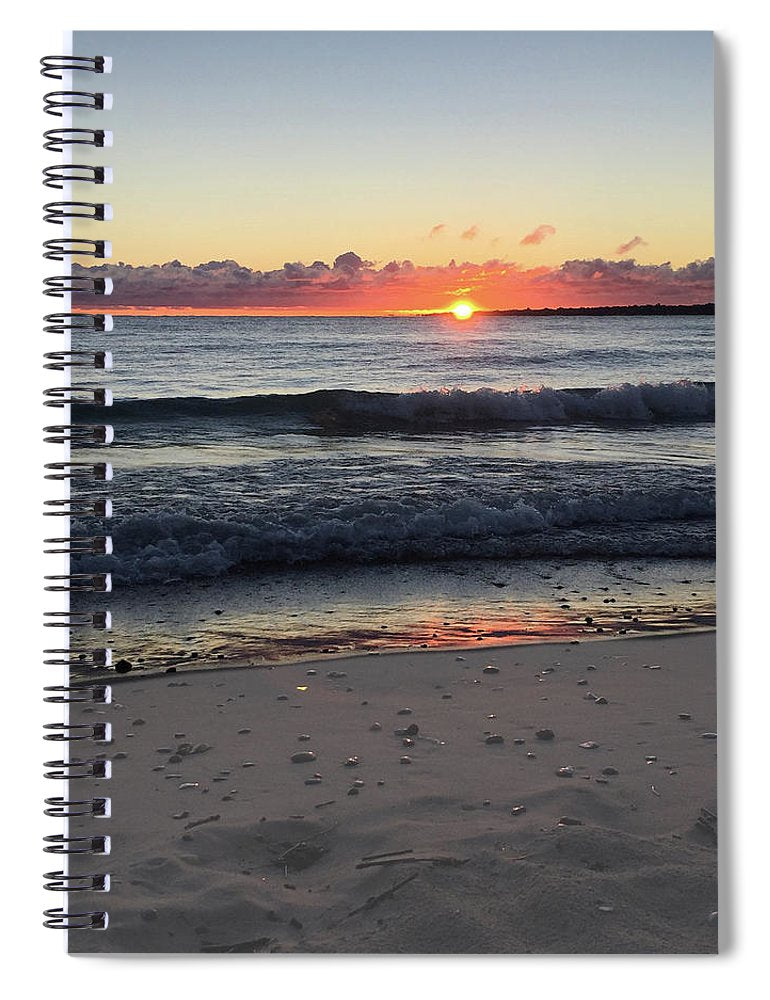 Lake Huron Beach Spiral Notebook