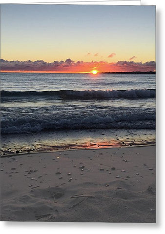 Lake Huron Beach Greeting Card
