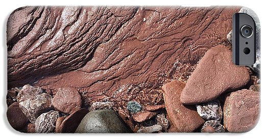 Lake Superior Beach Rock - Phone Case