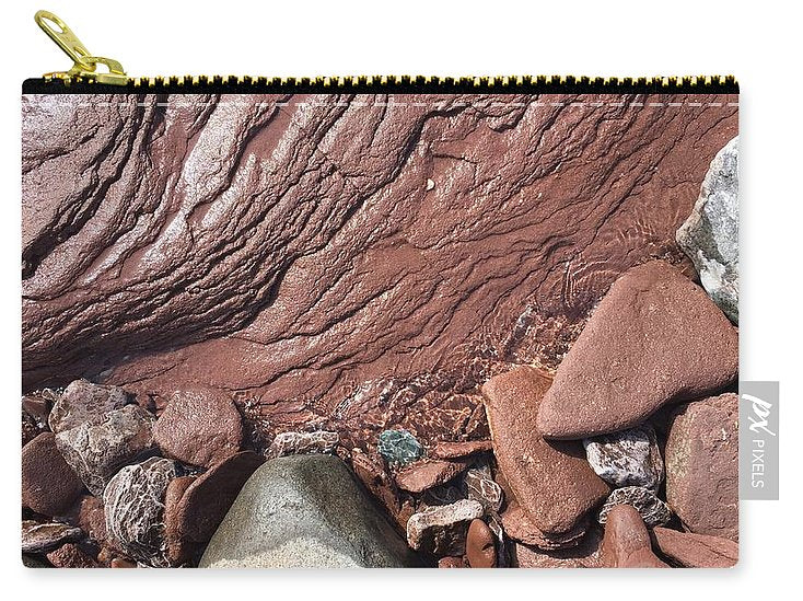 Lake Superior Beach Rock - Carry-All Pouch