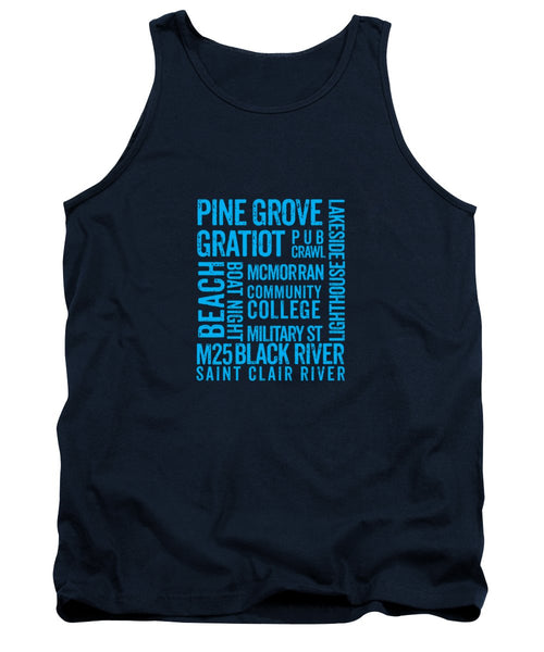 Port Huron Michigan Places - Tank Top