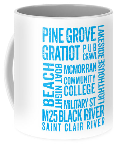Port Huron Michigan Places - Mug