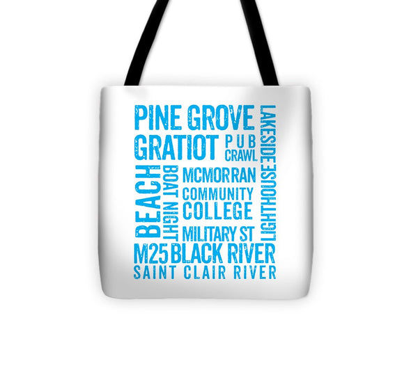 Port Huron Gifts -- Port Huron Tote Bag