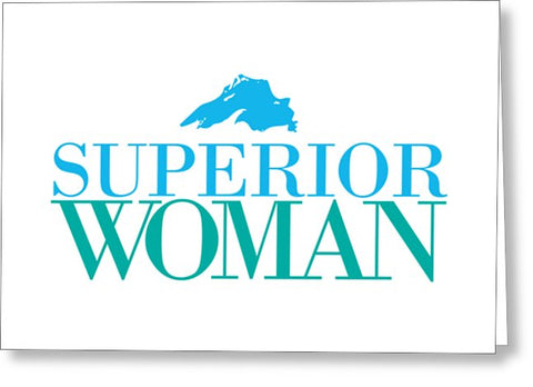 Lake Superior Greeting Card - Superior Woman Greeting Card