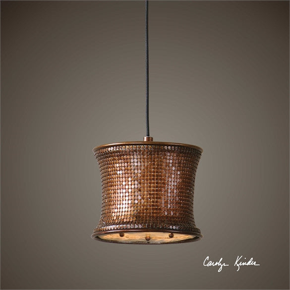 MARCEL COPPER 1 LT MINI PENDANT