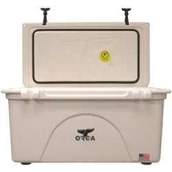 ORCA 75 QUART WHITE INSULATED (NO SHIPPING)