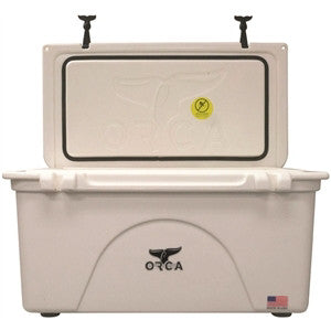 ORCA 75 QUART WHITE INSULATED (NO SHIPPING,CALL FOR STORE PICK UP)