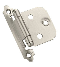 BP3429G10  Self-Closing, Face Mount Hinge with Variable Overlay -pair