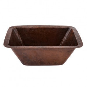 Rectangle Copper Prep Sink W/ 3.5″ Drain Size (NO SHIPPING)