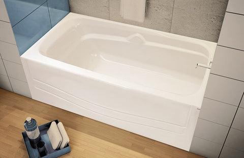MAAX AVENUE RIGHT HAND TUB WHITE