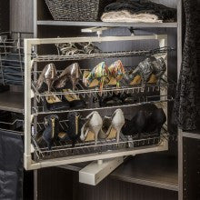 Rotating Shoe Rack