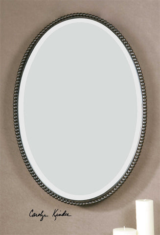 Oval Sherise Bronze Mirror