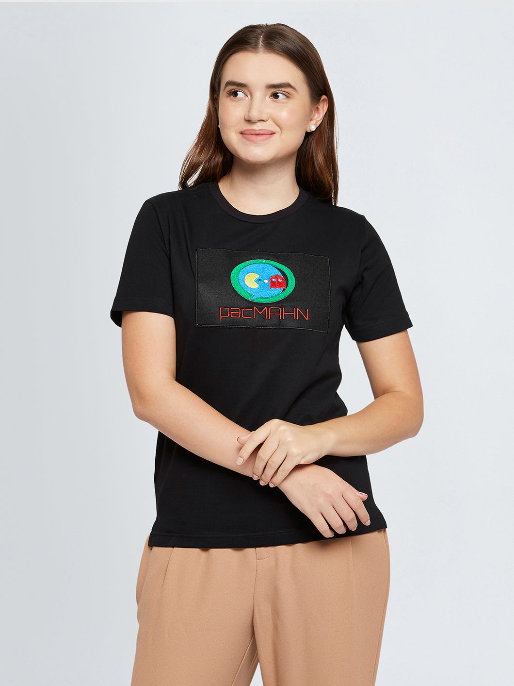 PacMAHN Embroidered T-shirt