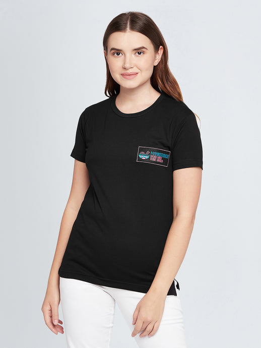 Work Hard Embroidered T-shirt