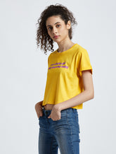 Mahnstudios women's yellow Barbie girl crop top selling online in India | Streetwear by MAHN