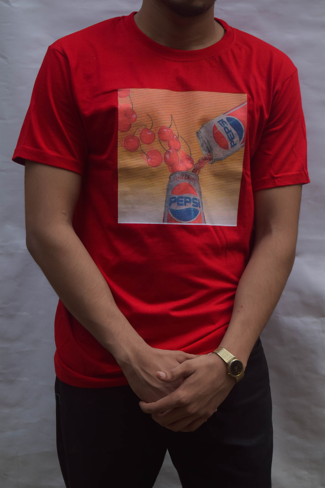 Red Cherry Pepsi Tee - MAHN