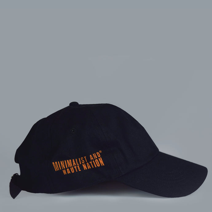 MAHN Black Solid Dad Hat - Mahnstudios | Season 3 - MAHN
