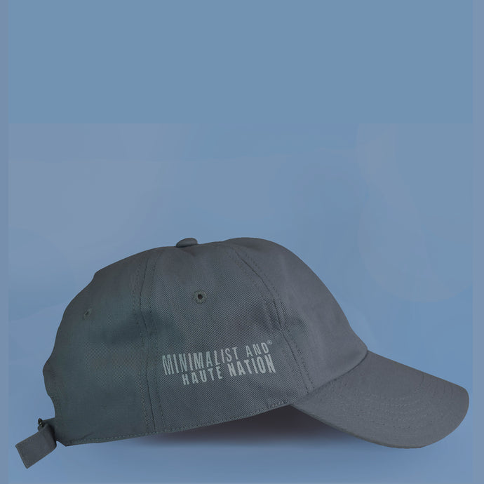 MAHN Grey Solid Dad Hat - Mahnstudios | Season 3 - MAHN