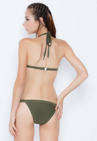 Cheeky Green Bikini Set