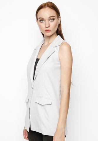 Lightweight Pure Cotton Blazer