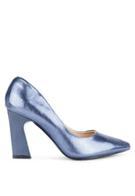 Pure Blue Classic Shoes