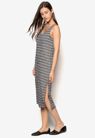 Gray Cami Wrap Dress