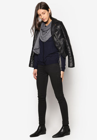 Black Cotton Jacket