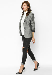 Gray Fashion Trend Jacket