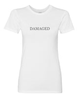 Women's DAMAGED Short Sleeve Tee