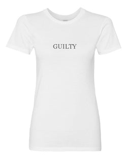 Women's GUILTY Short Sleeve Tee