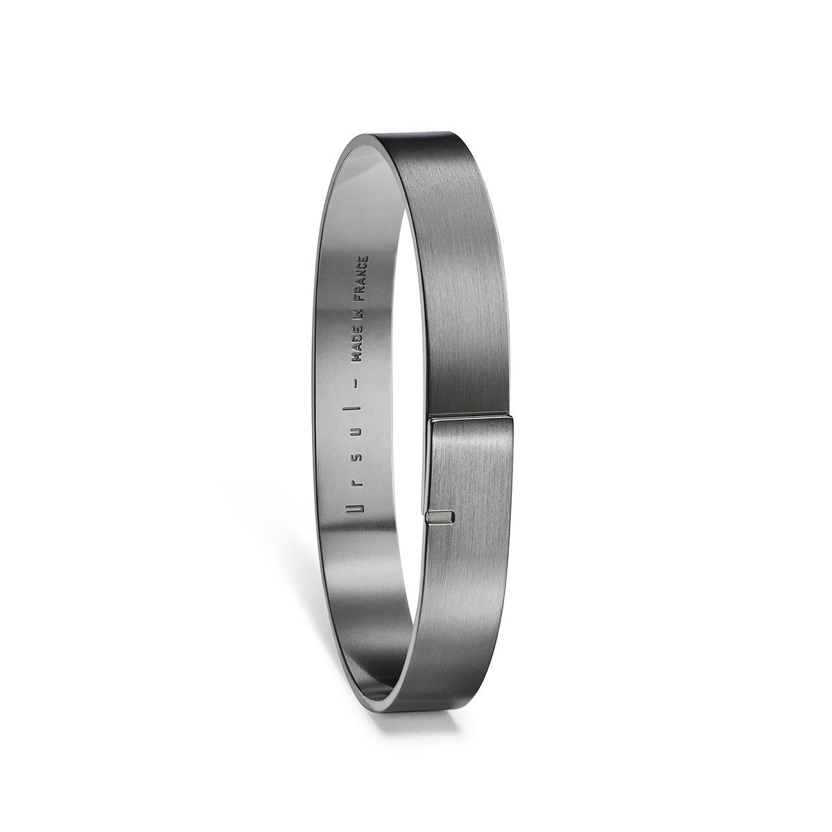 Saturne 9 - Rhutenium Silver Bangle