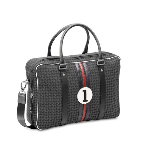 Grey computer bag for man William B1
