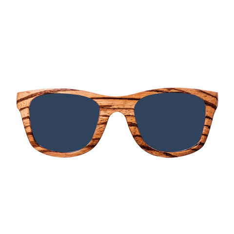 Zebrano Wood Sunglasses