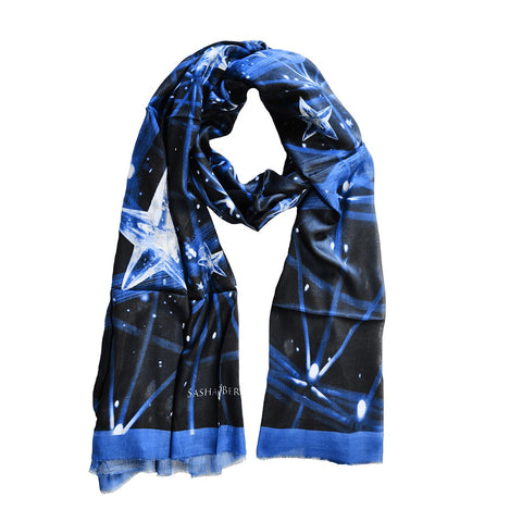Constelation Scarf 113 Blue
