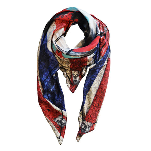 Love Dog English Bulldog Scarf 145