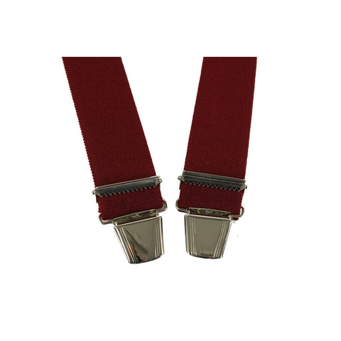 Elastic Suspenders X shape Clip end made in france