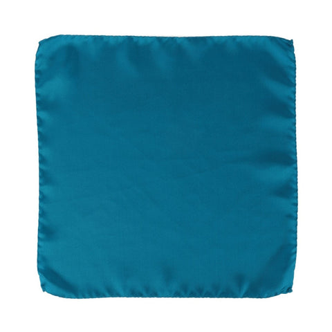 Blue Silk Pocket Square Bastide Bleue