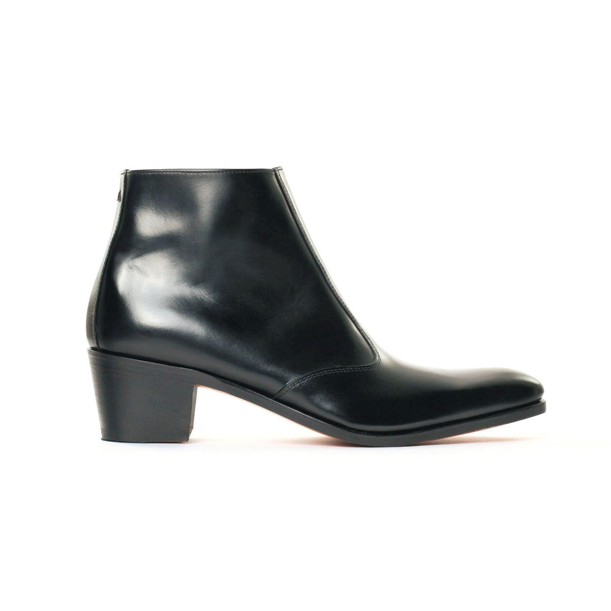 Boots in black calf leather Opéra 5cm