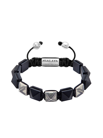 Men's Himalaya Collection - Matte Onyx and Silver