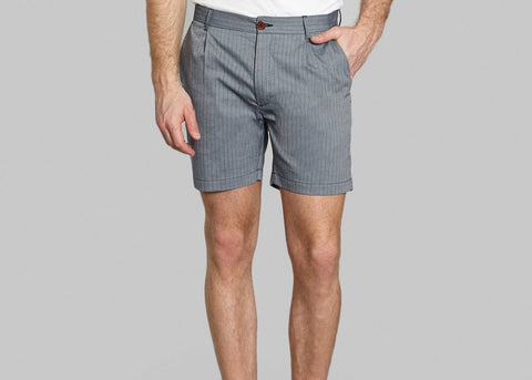 SP5 Striped Shorts 36403